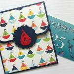 Baby Boy Gift Card Holder, New Baby..