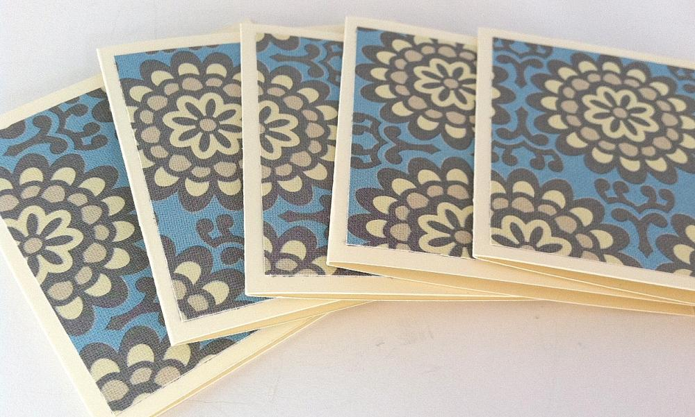 Mini Note Cards, Enclosure Cards, Set of 8 with Envelopes